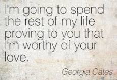 georgia cates quote