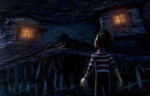 scary monster house