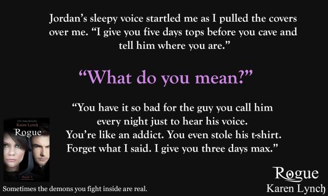 Jordan's sleepy voice