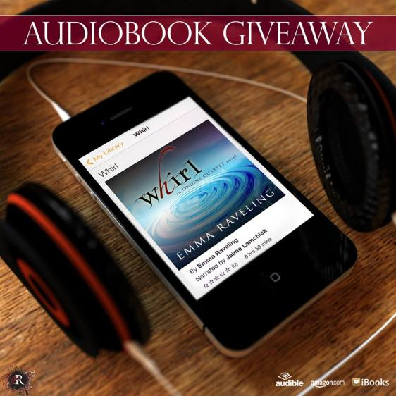 Whirl audiobook giveaway