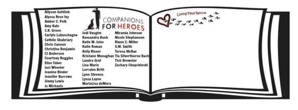 Ozarks Indie Book Fest authors list